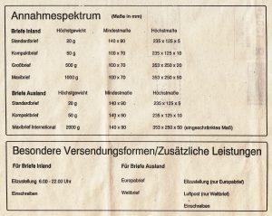 September 2017 Einschreiben Aus Niedersachsen