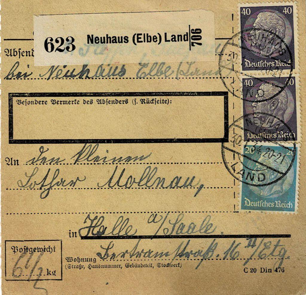 Dieses Bild hat ein leeres Alt-Attribut. Der Dateiname ist Neuhaus-Paketkarte-Poststempel-Neuhaus-Land-30.1.34_001842-1024x988.jpg