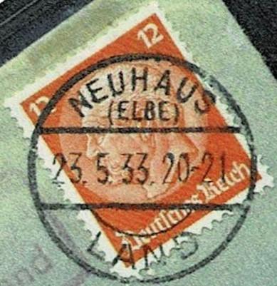 Dieses Bild hat ein leeres Alt-Attribut. Der Dateiname ist Poststempel-Neuhaus-Elbe-Land-23.5.1933_001935.jpg